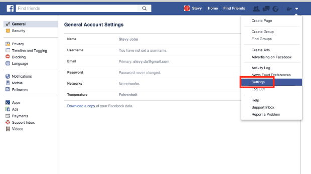 Delete a facebook account delete account how to desable facebook ccuart Image collections