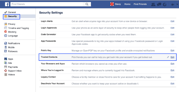 How to close out a facebook account