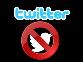 erase a twitter profile